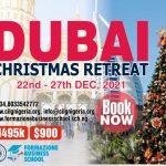 Where would you like to celebrate your Christmas? Yes DUBAI